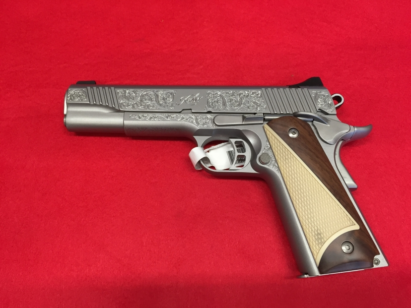 KIMBER STAINLESS II SPECIAL ENGRAVED